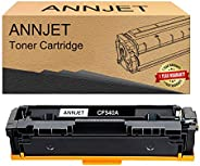 ANNJET Compatible Toner Cartridge Replacement for HP 203A CF540A CF541A CF542A CF543A for Color Laserjet M254d