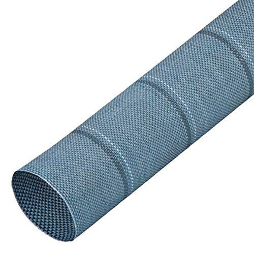 Berger Zeltteppich, blau, robust, ideal für Zelte, Balkone, Terrassen, 250 x 400cm