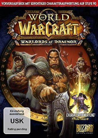 World of Warcraft: Warlords of Draenor (Add-On) - Vorverkaufsbox [Download-Code, kein Datenträger (World Of Warcraft Warlords Of Draenor Download)