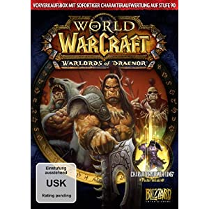 World of Warcraft: Warlords of Draenor (Add-On) – Vorverkaufsbox [Download-Code, kein Datenträger enthalten]