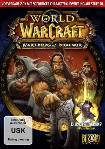World of Warcraft: Warlords of Draenor (Add-On) - Vorverkaufsbox [Download-Code, kein Datenträger enthalten]
