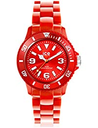 Ice-Watch Unisex-Armbanduhr ice-Solid Rot Analog Quarz SD.RD.U.P.12