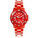 Ice-Watch - ICE solid Red - Montre rouge mixte avec bracelet en plastique - 000618 (Small)