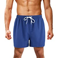 LK LEKUNI Shorts de Bain Homme Maillot Short de Jogging Short d'été Eté à Séchage Rapide Multicolore