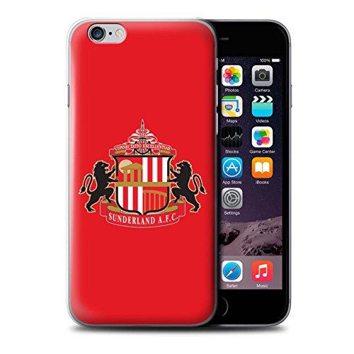 Offiziell Sunderland AFC Hülle / Case für Apple iPhone 6S+/Plus / Pack 6pcs Muster / SAFC Fußball Crest Kollektion Rot