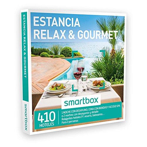 SMARTBOX – Caja Regalo – ESTANCIA RELAX & GOURMET – 410 relajantes hoteles 5*, resorts, balnearios… en España, Andorra y Francia