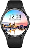 SmartWATCH Premium HQ1 (Original) Uhr Bluetooth Watch mit WhatApp* und Sim-Slot (Android OS, Pulsmesser, GPS) für Android & Apple iPhone (iOS*), Technikware Schwarz