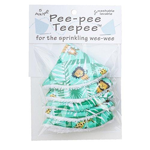 Pee-pee Teepee Jungle Green - Cello Bag by Beba Bean (Beba Bean)
