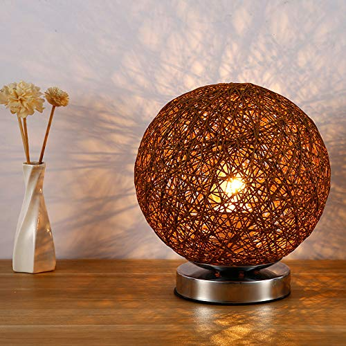 Dormitorio lámpara de noche estudio de invitados luz nocturna moderna minimalista pequeña lámpara de mesa decoración bola lámpara de mesa azul control remoto