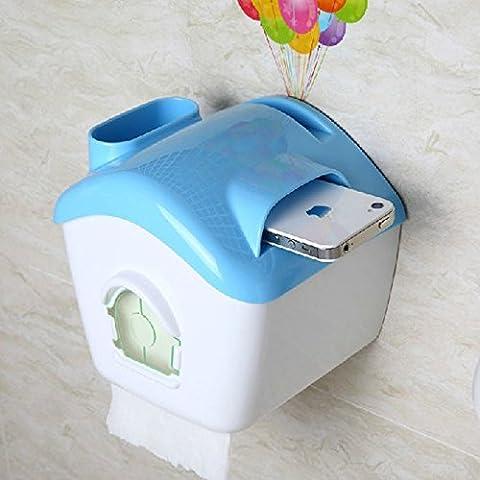 Ye bagno impermeabile WC vassoio nuovo gancio forte rotolo titolare carta asciugamano rack