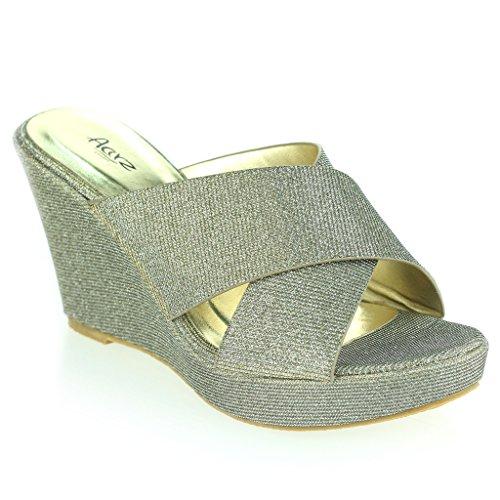 donne-le-signore-cinghia-trasversale-zeppa-sera-festa-casuale-ogni-giorno-comfort-sandali-scarpe-tag