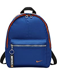 Nike y Classic Base Bkpk Mochila Unisex, Multicolor (Blue Jay /Total Orange)