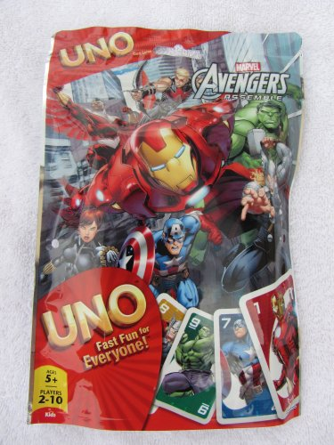 Uno Card Marvel Avengers UNO Card Game