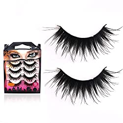 9th Avenue 12mm: 10Pair Semi-Hand Made False Eye Lashes Natural Eyelash Extension Tool 3D Thick Lengthening Fake Eyelashes Artificial Eye Lashes
