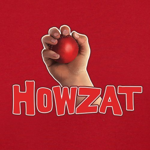 Howzat - Herren T-Shirt - 13 Farben Rot