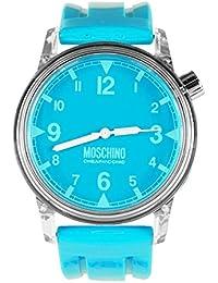 Moschino Unisexo Unisexo Analógico Casual Cuarzo Reloj MW0303