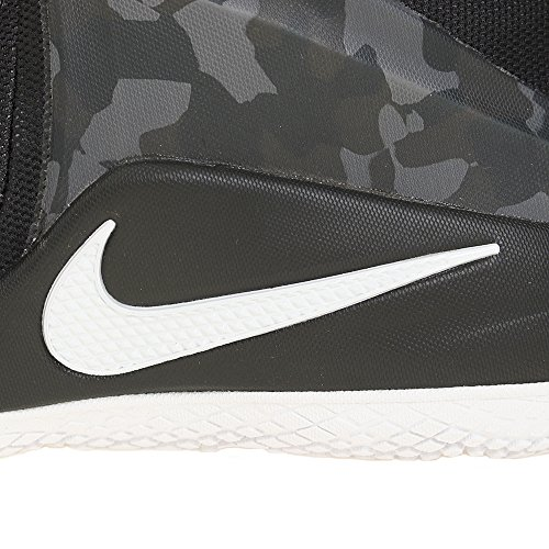 Nike 852439-002, espadrilles de basket-ball homme Noir