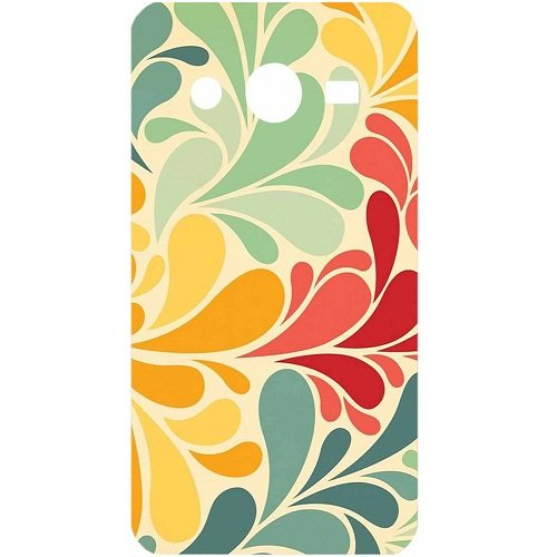 Casotec Colourful Pattern Print Design Hard Back Case Cover for Samsung Galaxy Core 2 G355H