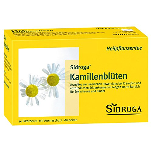 SIDROGA Kamillenbluetentee Filterbtl., 20 St
