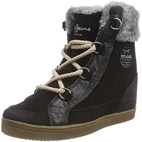 Pepe Jeans BRANDO SNEAKER - zapatillas deportivas altas de cuero mujer