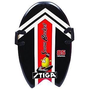 Stiga Kinder Snow Rocket 85 Twintail Black Foamboard, Red, 85 cm