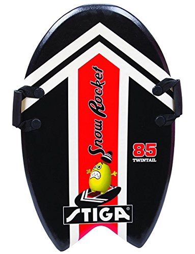 Stiga Kinder Snow Rocket 85 Twintail Black Foamboard Red, 85 cm