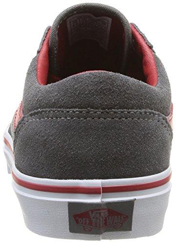 Vans MILTON Unisex-Kinder Sneakers Grau ((Suede) pewter/ / C5G)