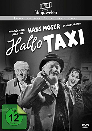 """Hallo Taxi - mit Hans Moser (""""Hallo Dienstmann"""") - Filmjuwelen"""