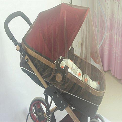 wuudi Baby Buggy, Baby Kinderwagen, Buggy Sicherheit Bezug Netze Verschlüsselung L, Mosquito
