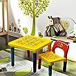 Children Kids Alphabet Learn & Play Table & Chair Set Children Furniture Educational Gift Christmas Gift Secret Santa