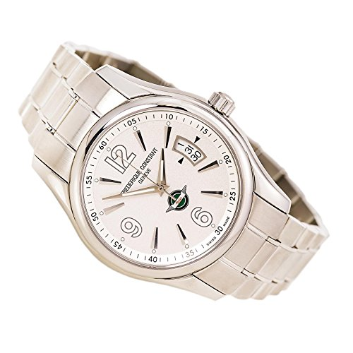 Frederique Constant Healey Automatic Stainless Steel Mens Watch Silver Dial Calendar FC-303HS6B6B