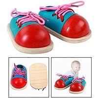 Fenteer Scarpe Alte Pizzo Lacci Sneaker Stringate Casuale Per Bambola Accessori Canvas Regali - Blu ZxhdHbpLm