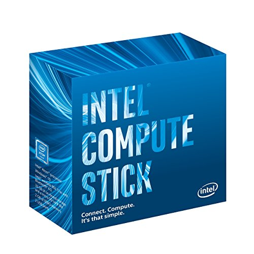 Intel Compute Stick Stick PC (Atom BOXSTK1AW32SCL/2GB/32GB/Windows 10/Integrated Graphics), Black
