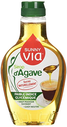 Sunny Via Sirop d'Agave Doseur 350 g