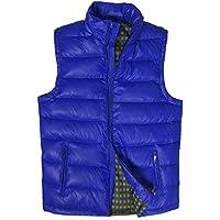 GXS De los hombres más chaleco de cuello de tamaño. Que chalecos. Chalecos chaqueta , treasure blue , 7xl