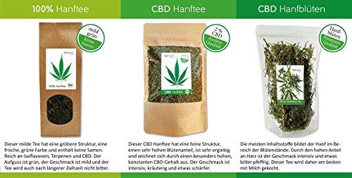 berryz CBD Hanf Tee + Das Original mit 2% CBD - 5