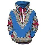 Luckycat Liebhaber Unisex Herbst Winter afrikanischen 3D Print Langarm Dashiki Hoodies Sweatshirt Top Damen und Herren Mode 2018