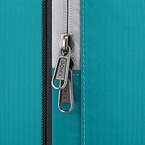 Gonex Petit Sacs de Rangement Sous-vêtement Compression Valises Organisateurs Bagages Système de Cube Voyage Pochette Extensible Lot de 3 pièces