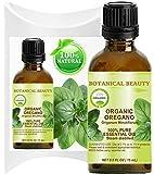 Huile essentielle de origan Bio Croissance sauvage. 100% pure de qualité thérapeutique, DE Qualité Premium, PUR. 0,5Fl. oz–15ml