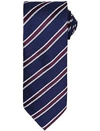Premier - Cravate rayée et gaufrée - Homme