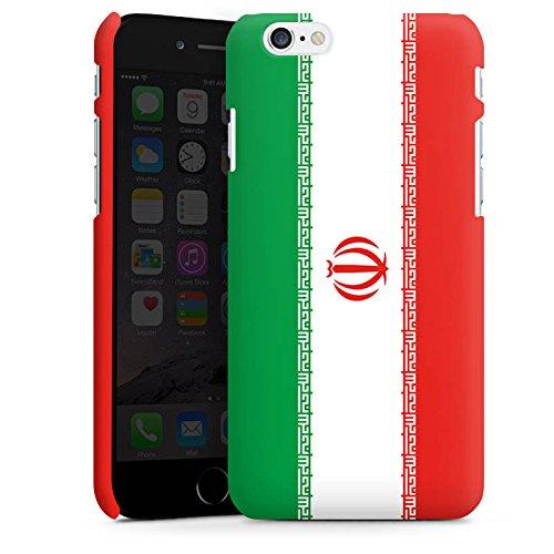 Apple iPhone X Silikon Hülle Case Schutzhülle Iran Flagge Fußball Premium Case matt