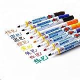 DIY Farbe Whiteboard marker Kinder- Zeichnung Maler 8 Farben Tintenrollerpatrone Tintenrollerpatrone Whiteboard Marker, 2 Taschen (8 Farben/Beutel)