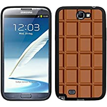 FUNDA CARCASA PARA TPU GEL PARA SAMSUNG GALAXY NOTE 2 TABLETA DE CHOCOLATE MOD.2