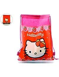 Saquito Hello Kitty Capacidad 35 x 0,5 x 27 cms