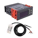 Sharplace 220V Controllo di Umidità di Aria Controller con Sensore di Sonda Regolatore gamma 1% ~ 99% MH13001