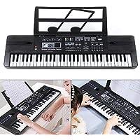 54 Key Electronic Keyboard Electric Music Digital Piano Organ with Mic /& Stand