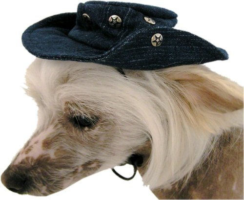 Artikelbild: Cooler Hundehut - Cappy - Jeanshut - Dogs Stars