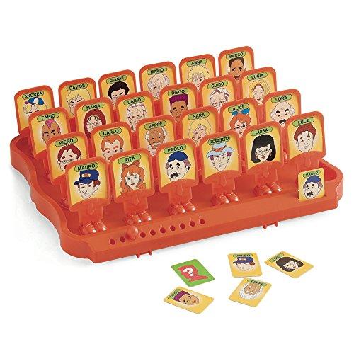 Juego Guess Who - ¿Quién es quién? Juego habilidad I Juego de mesa para ninõs y adultos - Naranjo