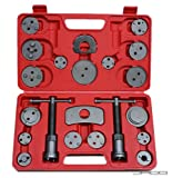 Jago Bremskolbenrücksteller 22-teilig Bremskolben 2 Spindel Bremsenrücksteller Rücksteller Werkzeug Bremsbacken-Set Kolbenrücksteller universell