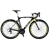 SAVADECK Herd 6.0 Carbon Rennrad T800 Kohlefaser 700C Rennrad Shimano 105 R7000 Groupset 22 Geschwindigkeit Kohlenstoff Radsatz Sattelstütze Gabel Ultra-Licht Fahrrad